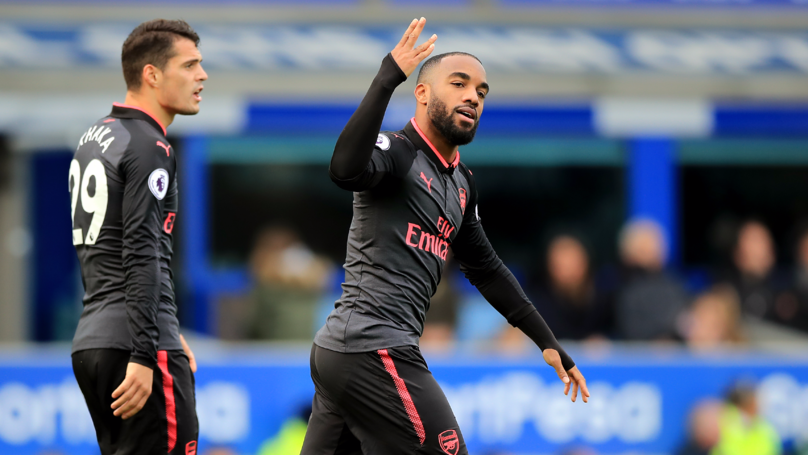 Alexandre Lacazette Reveals Why He Changed His Goal Celebration Against Everton