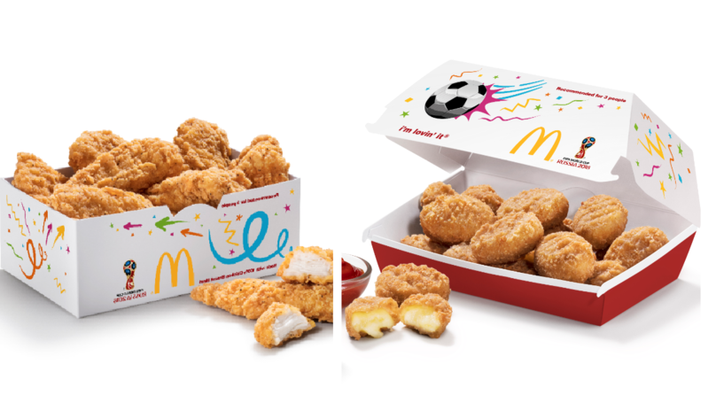 McDonald's Launches Share Boxes Of Cheese Bites And Chicken Selects