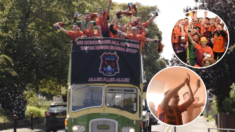 Sunday League Side Duckpond FC Celebrate Title Win By Splashing £4,000 On End-Of-Season Parade