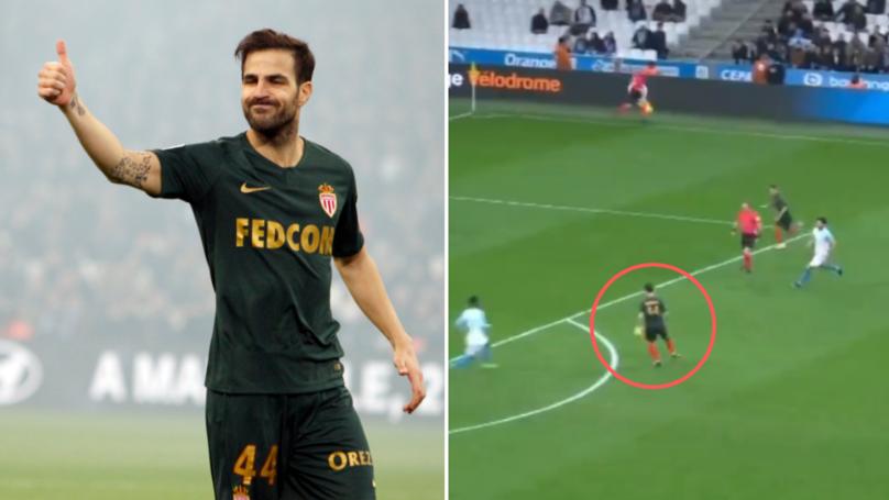 Cesc Fabregas Was Doing Cesc Fabregas Things On His AS Monaco Debut
