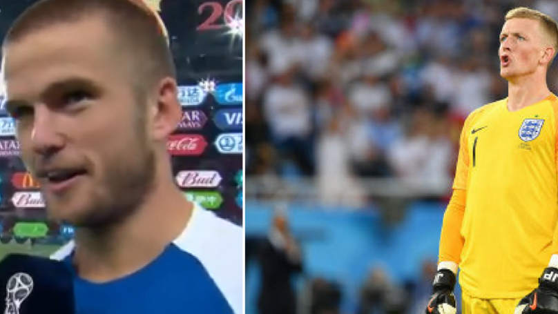 What Eric Dier Said About Jordan Pickford After Penalty Shoot Out Victory Shows True Class
