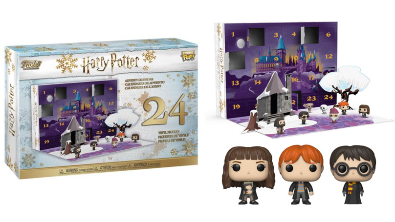 Funko's Harry Potter Advent Calendar Is A Muggle's Dream Come True