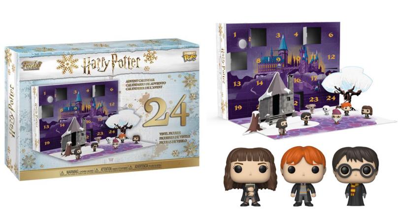 Funko's Harry Potter Advent Calendar Is A Muggle's Dream Come True