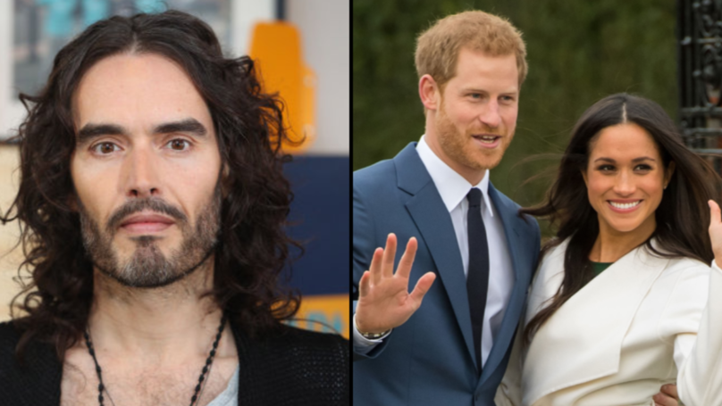 Russell Brand Starts Petition To Protect Homeless People Ahead Of Prince Harry's Wedding