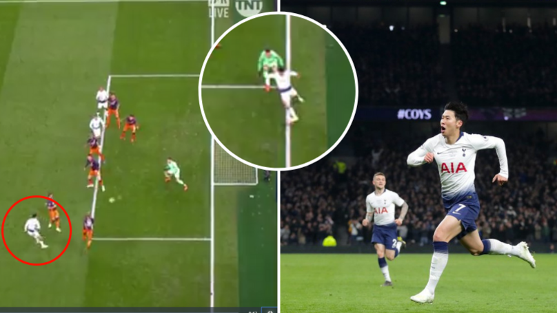 Son Heung-Min Rifles Home To Give Tottenham Vital Champions League Win Vs Manchester City