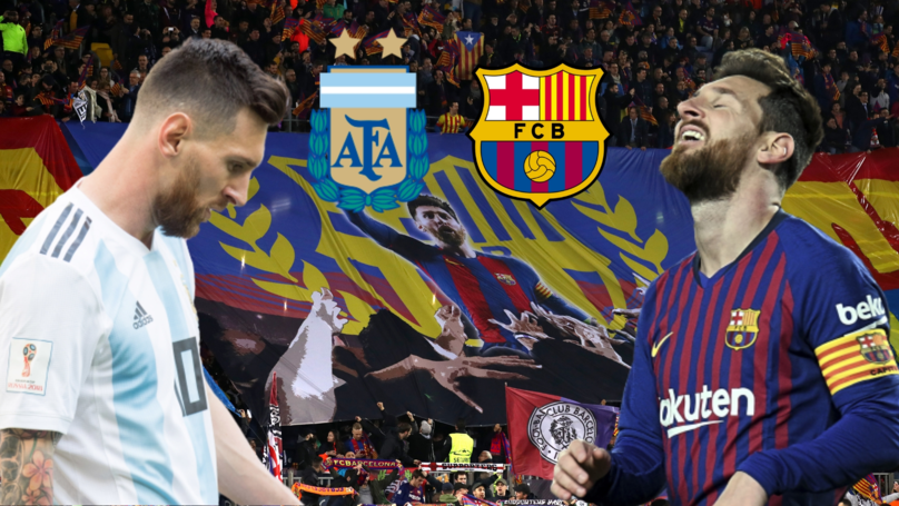 Fan Creates A Thread Slamming Every Time Lionel Messi Let His Teammates Down