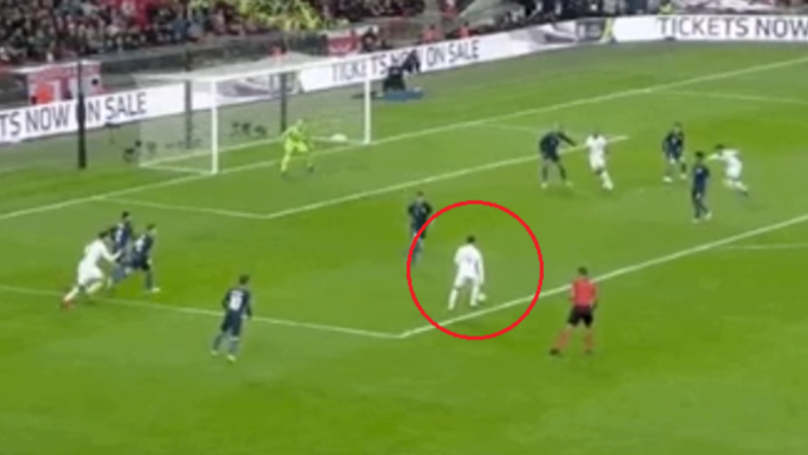 Manchester United's Jesse Lingard Scores Stunning Goal For England