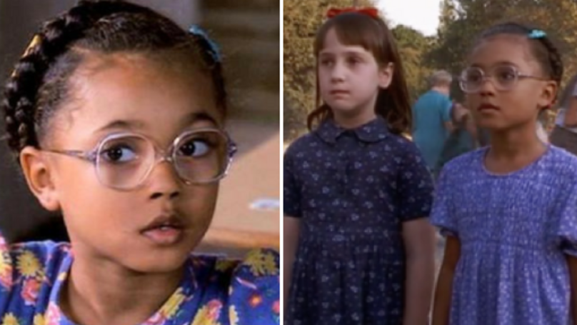 Matilda's BFF Lavender Brown Is All Grown Up And She Has Glowed Up
