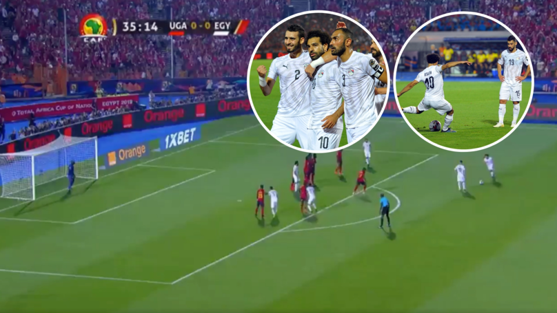 Mohamed Salah Scored Stunning 25-Yard Free-Kick In Egypt's Africa Cup Of Nations Clash