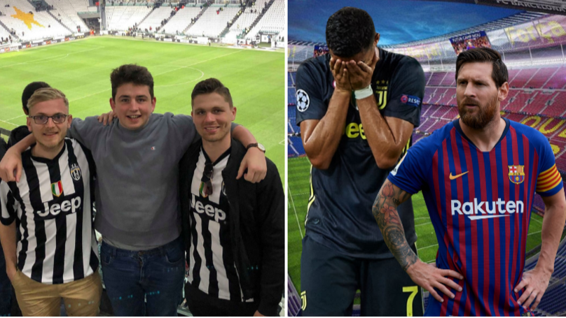 Unluckiest Fan In The World Saves Up To See Ronaldo And Messi, Both Injured