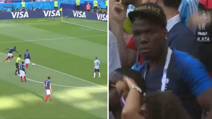 Watch: Paul Pogba's Brothers Produce Priceless Reaction To His Poor Free-Kick