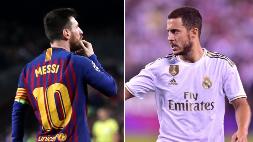 """Eden Hazard Is Close To Lionel Messi's Level"""