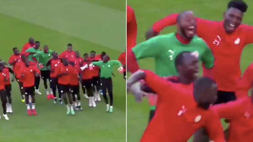 Senegal's Warm-Up Routine At The World Cup Includes Dancing And Singing