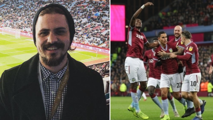 Life-Long Aston Villa Fan Went To His First Match At Villa Park Last Night