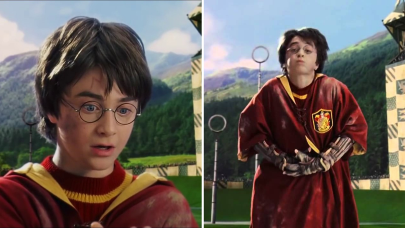 27 Years Ago Today, Harry Potter Made His Quidditch Debut For Gryffindor
