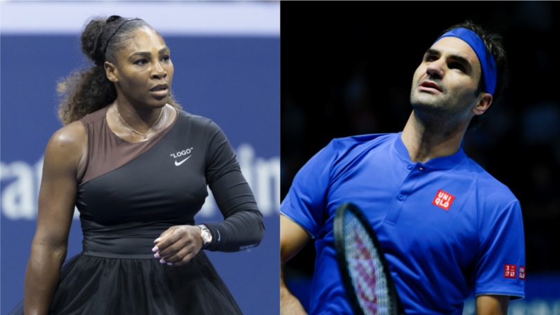 Roger Federer And Serena Williams To Go Head To Head For First Time Ever