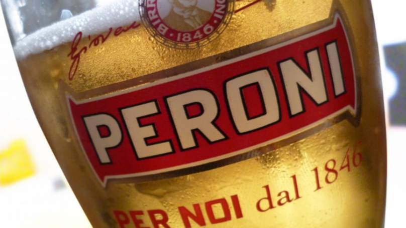 Peroni Named The Greatest Lager Of All Time On National Beer Day