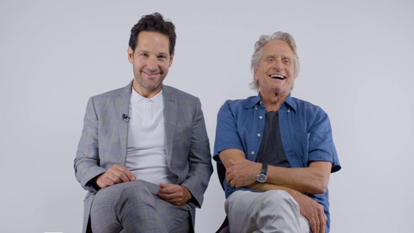 'Ant-Man And The Wasp' Stars Paul Rudd And Michael Douglas Chat Ahead Of UK Release