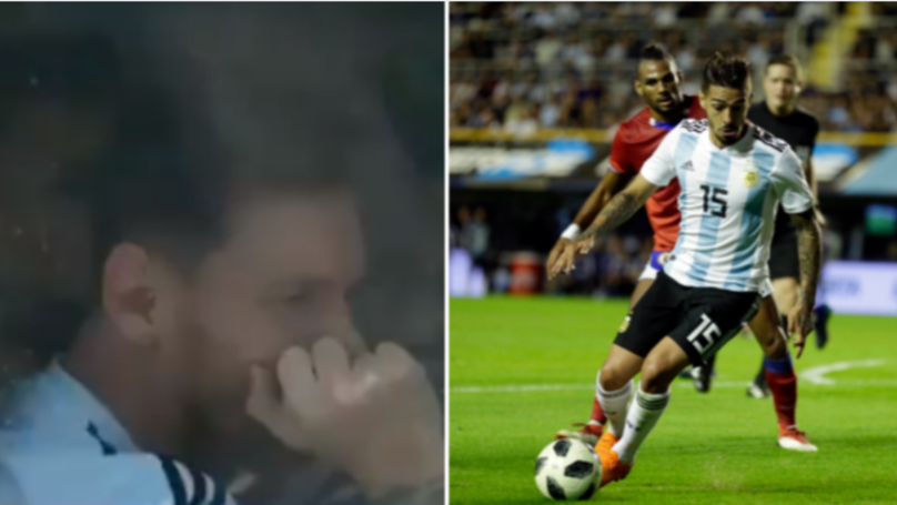 Lionel Messi And Argentina Players Very Upset Over Manuel Lanzini Injury