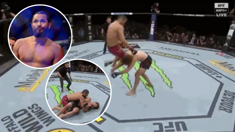 Jorge Masvidal Produced Fastest KO In UFC History With A Devastating Flying Knee Strike Against Ben Askren