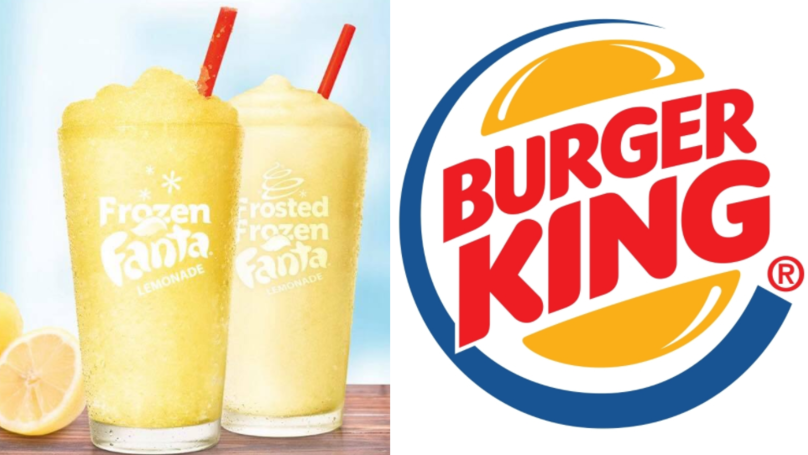 Burger King Is Now Selling Frozen Fanta Lemonade And It's SO Refreshing