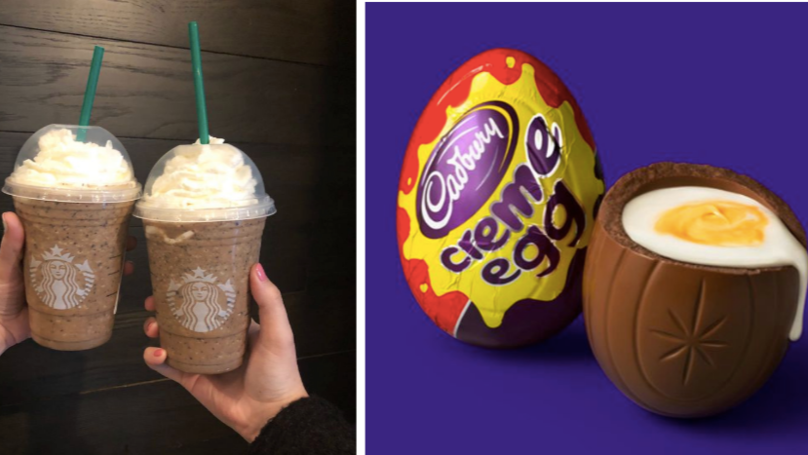 You Can Now Get A Crème Egg-Flavoured Frappuccino In Starbucks