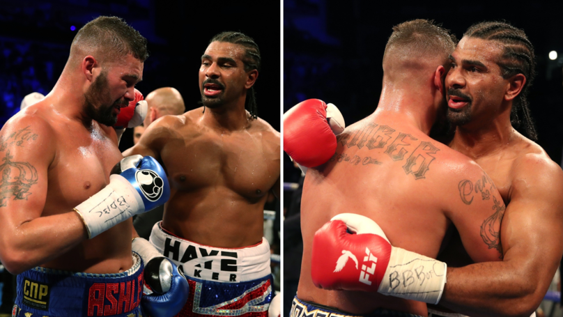 What David Haye Told Tony Bellew After Oleksandr Usyk Fight