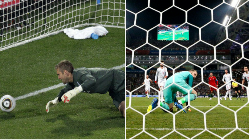 David De Gea Does His Best Rob Green Impression, Gifts Cristiano Ronaldo A Second