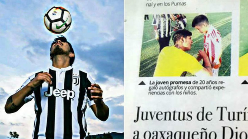Meet The Fake Footballer Who Fooled Everyone Into Thinking He Was Juventus Wonderkid