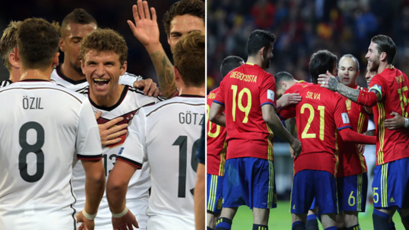 Leaked Images Of Spain And Germany's Stunning Away World Cup Kits