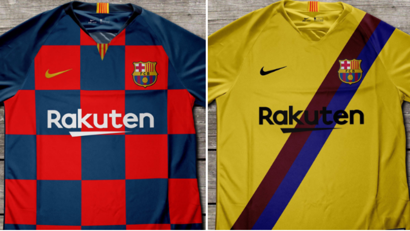 Barcelona Kits For 2019 20 Season Have Been Leaked Online - SPORTbible 1f81a7856287d