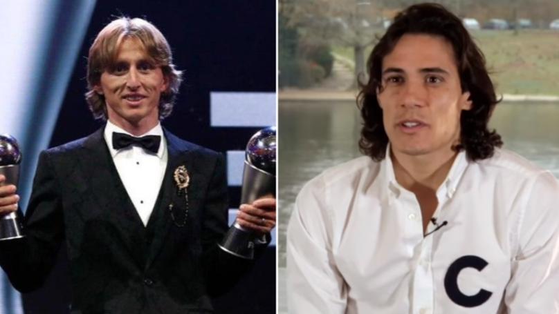 Why Edinson Cavani Doesn't Think Luka Modric Should Win The Ballon d'Or