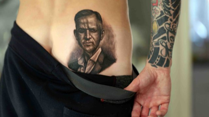 Man Gets Jeremy Kyle Tattoo On His Bum