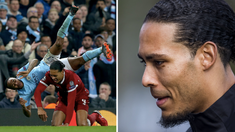 Virgil van Dijk Reveals He Voted For Main Rival Raheem Sterling In POTY Vote