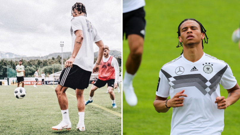 Leroy Sane Has A Slick New Look For The World Cup
