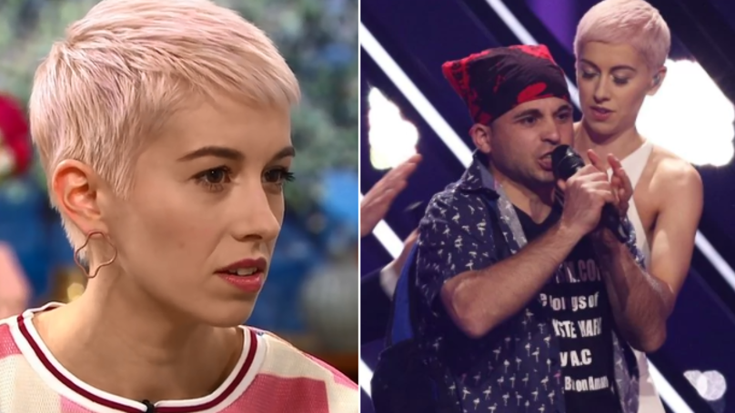 UK's Eurovision Entry SuRie Reveals Injuries From Stage Invasion On This Morning
