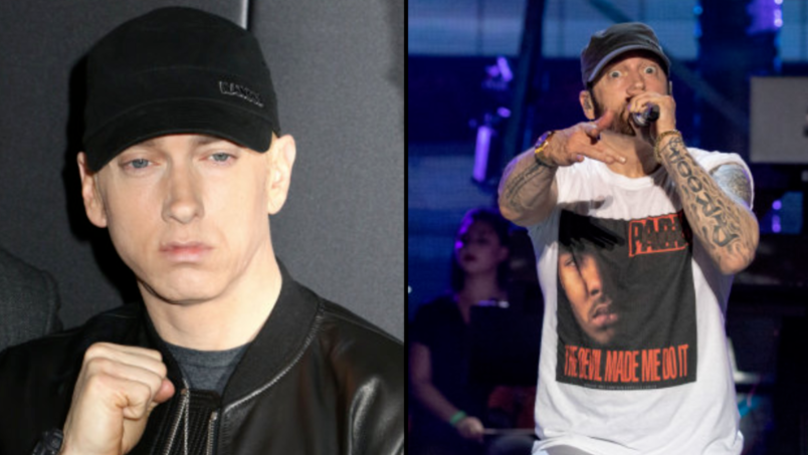 The Video For Eminem's Latest Song 'Fall' Is Here