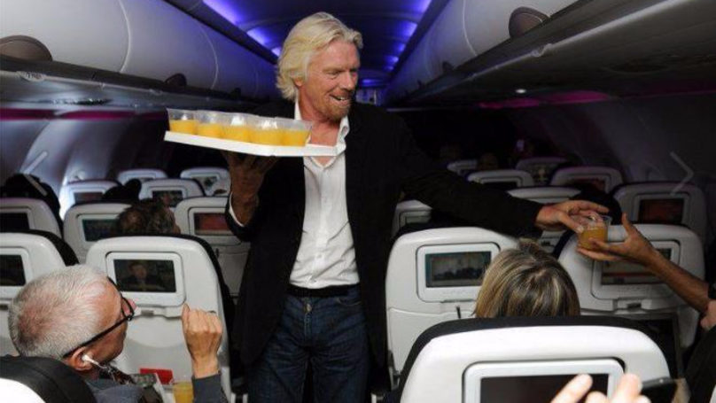 Richard Branson Chips Into The United Airlines Controversy With One Photo