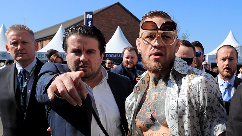 Conor McGregor Rocks Up To Aintree Exactly Like You Imagine He Would