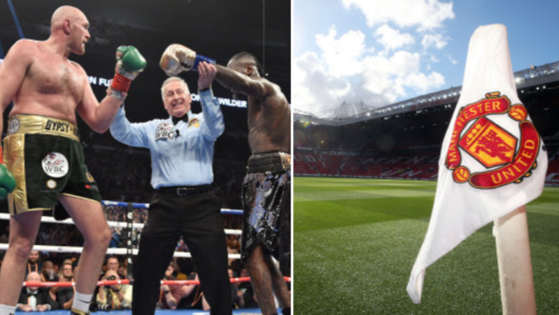 Tyson Fury Wants Deontay Wilder Rematch At Old Trafford