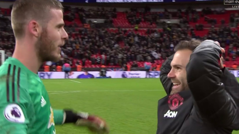 Juan Mata's Reaction To David De Gea's Performance Is All Of Us Right Now