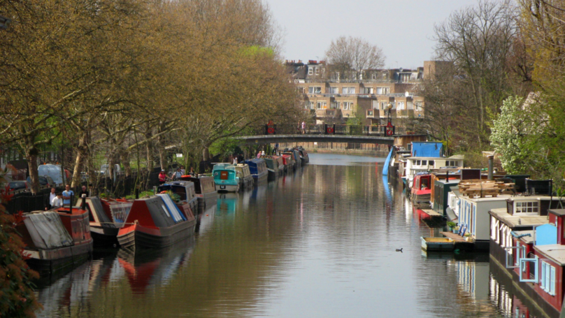 Woman Couldn't Afford London Home So Built Herself Luxury Houseboat For £182k