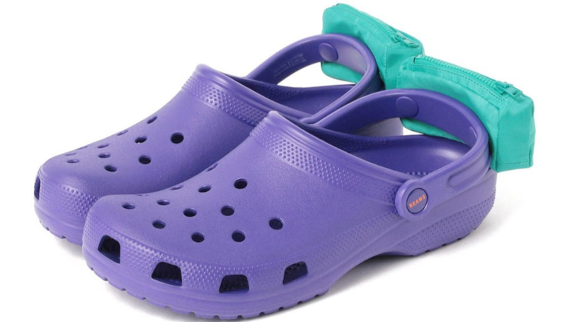 Crocs Has Released New Shoes With 'Fanny Packs' On Their Heels