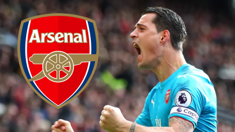 Granit Xhaka Is 'The Leading Candidate' To Replace Laurent Koscielny As Arsenal Captain
