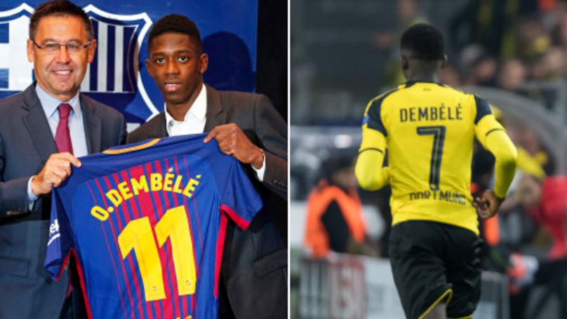 Borussia Dortmund Have A New No.7 Following Ousmane Dembele's Exit