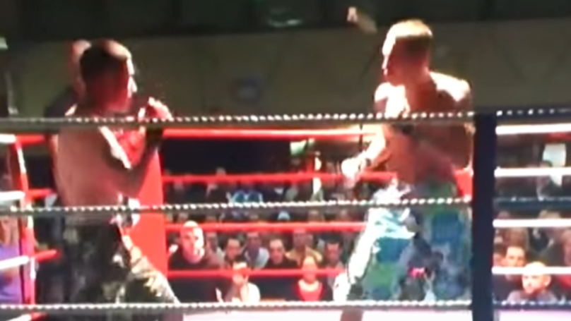 Throwback To Conor McGregor's First Ever Professional Fight In Ireland