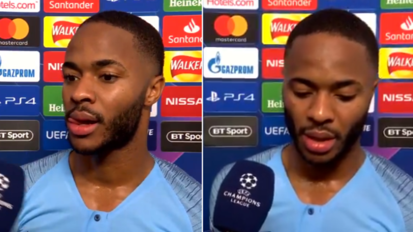 Raheem Sterling Sends Message To The Referee In 'Humble' Post-Match Interview