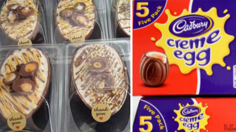 Easter Eggs Filled With Creme Egg And Ferrero Rocher Cheesecakes Are Here