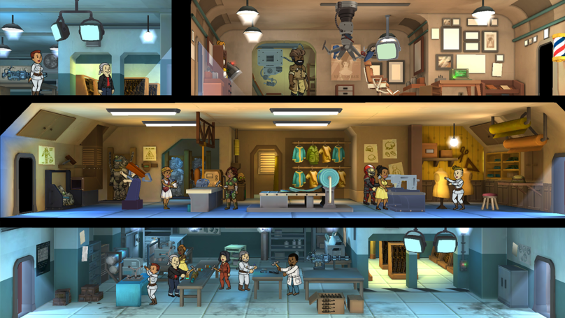 'Fallout Shelter' On Switch Surprisingly Successful, But Don't Expect 'Skyrim' Mods
