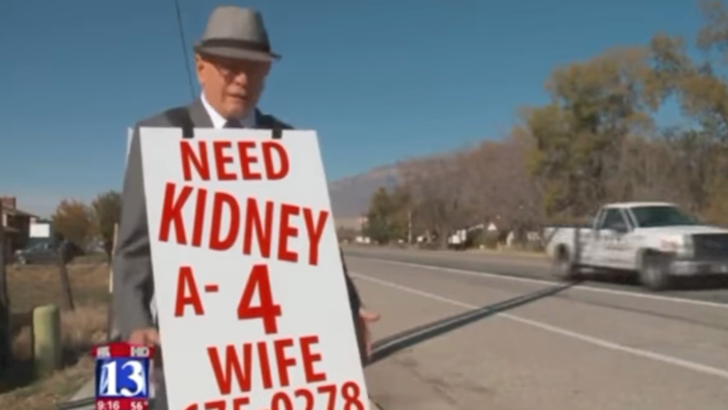 Bloke Trying To Find Kidney For His Wife Has Found A Donor